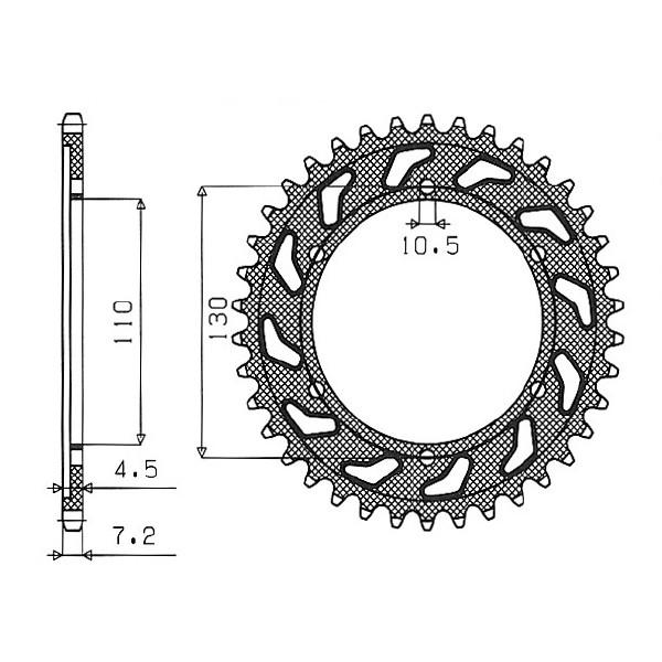 catena corona pignone - 54.1281045