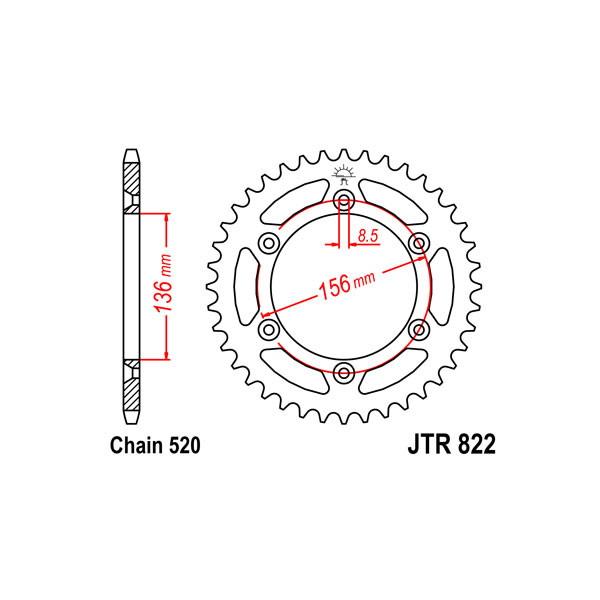 catena corona pignone - 54.1520650