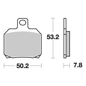 pastiglie freno posteriori - 07BB2035