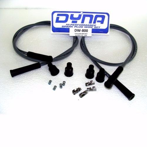 Cavi candela Dynawire 120cm conduttore in grafite schermato - DKDW-800
